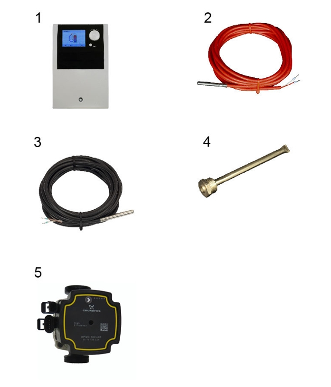 LK 201 SmartSolar  Dissection image Spare parts and Accessories
