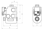LK 810 W 2.0 - Compression fitting Measurement drawing (LKA)