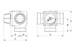 LK 840 2.0 - Female thread Measurement drawing (LKA)